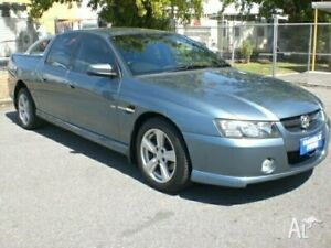 2004 Holden Crewman VZ SS Blue 4 Speed Automatic Crew Cab Utility Fawkner Moreland Area Preview