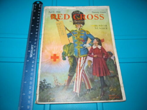 RED CROSS MAGAZINE APRIL 1918 NORMAN ROCKWELL