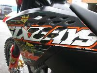 KTM 250 EXCF 2008 ENDURO ROAD REGISTERED ELECTRIC START MX MOTOCROSS BIKE