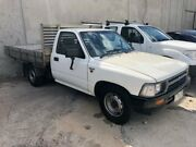 1993 Toyota Hilux RN85R White 4 Speed Automatic Cab Chassis Hoppers Crossing Wyndham Area Preview