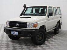 2015 Toyota Landcruiser VDJ76R MY12 Update Workmate (4x4) White 5 Speed Manual Wagon Hillman Rockingham Area Preview