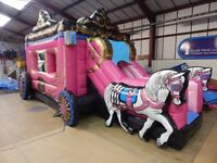 Disco Dome, Bouncy castle, slide, bungee run, photo booth & soft play hire