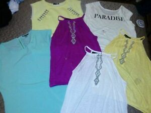 LOT OF 6 BRAND NEW M/L TOPS/BLOUSES $20 EACH OR ALL FOR $100