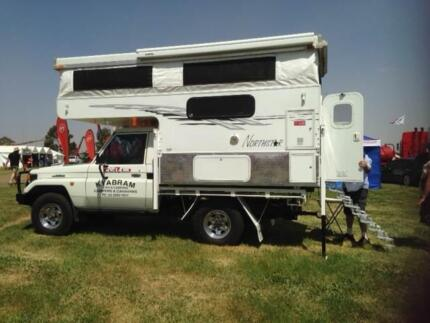 Northstar slide-on ute camper - Offroada 8' pop-top Kyabram Campaspe Area Preview