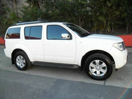 2006 Nissan Pathfinder R51 TI White 5 Speed Auto Seq Sportshift Wagon Ashmore Gold Coast City Preview