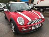 2002 Mini Cooper, starts and drives very well, 1 years MOT, clean inside and out, car located in Gra