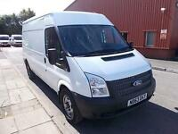 Ford Transit T350 LWB MEDIUM ROOF VAN TDCI 100PS DIESEL MANUAL WHITE (2014)