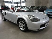 2000 Toyota Mr2 ZZW30R Spyder Silver 5 Speed Seq Manual Auto-Clutch Convertible Essendon Moonee Valley Preview
