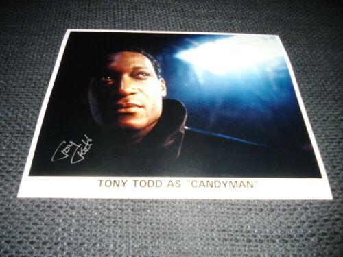 "TONY TODD signed Autogramm auf 20x25 cm ""CANDYMAN"" Bild InPerson LOOK"