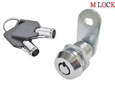 58 Tubular Cam Lock Rv Toolbox Cabinet Drawer 1 Key Pull 90 Degree Turn 2400bs
