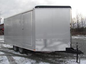 JUST ARRIVED SNOWMOBILE TRAILER WITH TRANSPORT DAMAGE Prince George British Columbia image 2