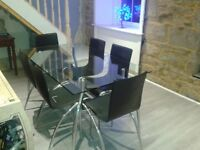 High quality John Lewis Dining Table & 6 Chairs. Was £1,200 new.