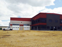 New Industrial Shop for Lease