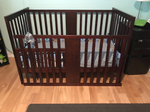 Beautiful  Convertible Infant Bed Set  - Barely Used