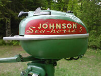 1951 Johnson 5hp Outboard