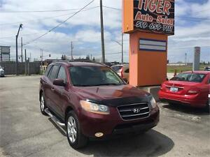 2008 Hyundai Santa Fe Limited **AWD**LEATHER**ONLY 145 KMS****