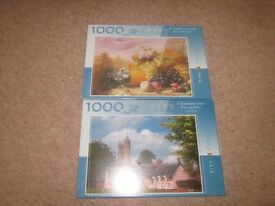 Unopened and unused jigsaws by King International