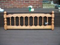 Pine Double Head Board