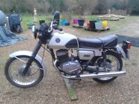 CZ 125 D/L two stroke 1993 K reg learner legal