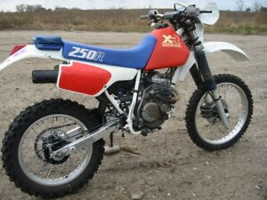 1986 Honda XR 250R - Great Condition - Needs New Piston