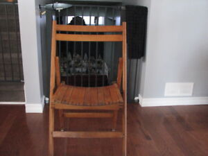 Package Deal on Folding Chairs