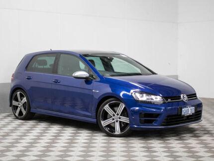 2014 Volkswagen Golf AU MY15 R Blue 6 Speed Direct Shift Hatchback