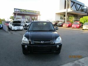 2007 Hyundai Tucson City Black 4 Speed Auto Selectronic Wagon Coorparoo Brisbane South East Preview