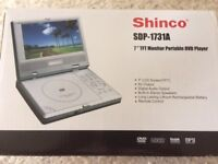 Portable 7inch Screen DVD Player for sale - boxed as new