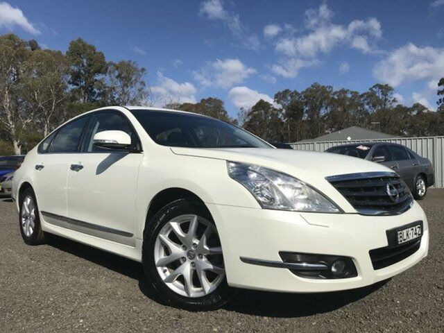 2009 Nissan Maxima J32 350 St S White 6 Speed Continuous Variable