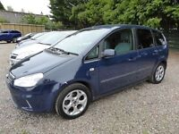 Ford C-Max 1.6 Zetec 16v, Spacious Family Tourer, Excellent Service History Included