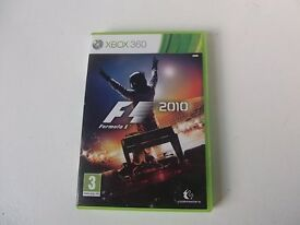 Xbox 360 game 'F1 2010' could be posted