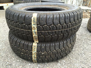 2 SETS OF 2 SNOW TIRE 175/70/13