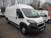 Peugeot Boxer 2.2 HDI H2 130PS PROFESSIONAL VAN DIESEL MANUAL WHITE (2015)