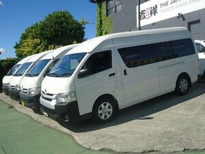 2014 Toyota Hiace KDH223R MY14 Commuter White 4 Speed Automatic Bus Canada Bay Canada Bay Area Preview
