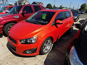 2012 Chevrolet Sonic LT $ 6,900.00 Call 727-5344