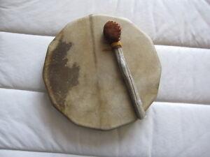 Tambour chamanique peau de chevreuil