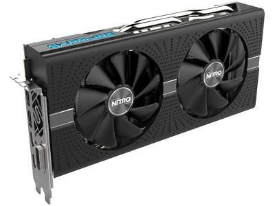 Sapphire Radeon NITRO+ RX 580 8GB GDDR5 PCI-E Dual HDMI / DVI-D / Dual DP w/ bac