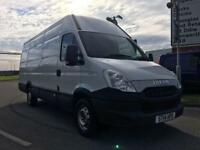 2014 14 IVECO-FORD DAILY 2.3 35S13V 126 BHP XLWB HIGH ROOF DIESEL
