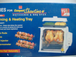 Steaming & Heating Tray for Compact Showtime BBQ Oven