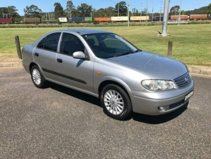 2004 Nissan Pulsar N16 ST-L Silver 5 Speed Manual Sedan