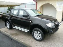 2015 Mitsubishi Triton MN MY15 GLX (4x4) Black 5 Speed Manual 4x4 Dual Cab Utility South Nowra Nowra-Bomaderry Preview