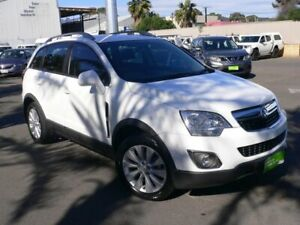 2013 Holden Captiva CG MY14 5 AWD LT Heron White 6 Speed Sports Automatic Wagon Melrose Park Mitcham Area Preview