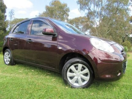 2012 Nissan Micra K13 ST Purple 4 Speed Automatic Hatchback Doveton Casey Area Preview