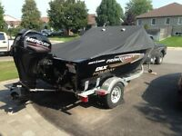 2013 PRINCECRAFT FISHING BOAT FOR SALE