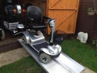 Any Terrain Invacare Leo Mobility Scooter 21 Stone Capacity Adjusts Fully AntiTheft Alarm Only £450