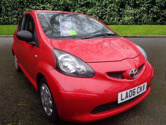 2006 toyota aygo vvt i 2006 petrol red manual in newcastle under lyme staffordshire gumtree. Black Bedroom Furniture Sets. Home Design Ideas