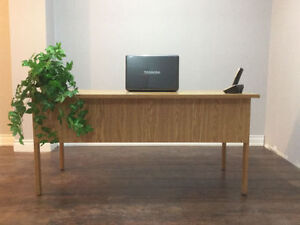 Gently used office desk