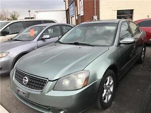 2005 NISSAN ALTIMA 2.5S LEATHER/SUNROOF