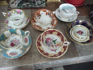 """Lovely Collection Of 6 Beautiful """"Paragon"""" Cups And Saucers"""