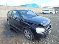 VAUXHALL CORSA C 1.7 CDTI SRI Z20R DIESEL BREAKING ENGINE DOOR INTERIOR LIGHTS BUMPER...
